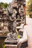 Statue in Pura Taman Ayun Stock Images