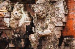 Statue in Pura Taman Ayun Royalty Free Stock Photos