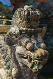 Statue in Pura Taman Ayun - hindu temple near Mengwi, Bali, Indo Stock Images