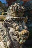 Statue in Pura Taman Ayun - hindu temple near Mengwi, Bali, Indo Stock Images