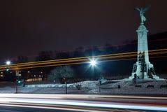 Statue Quebec stockfoto