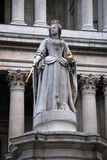 Statue of Queen Anne Royalty Free Stock Image