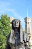 Statue of Queen Bertha Canterbury Royalty Free Stock Images