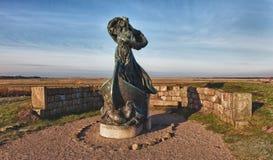 Statue of Queen Dagmar i Ribe Stock Image