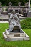 The Statue of Queen Elisabeta Carmen Silva Stock Images