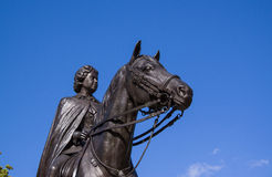 Statue of Queen Elizabeth Royalty Free Stock Image