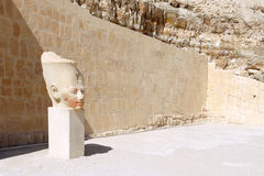 Statue of Queen Hatshepsut Luxor .Egypt Royalty Free Stock Image