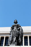Statue of the queen isabel ii of spain Royalty Free Stock Photo