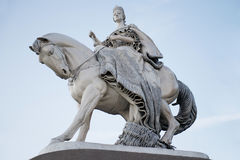 Statue of Queen Maria Theresa in Bratislava Stock Photography