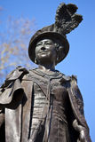 Statue of Queen Mother Elizabeth in London Stock Image