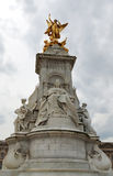 Statue of Queen Victoria. At the gates of Buckingham Palace in London Royalty Free Stock Photography
