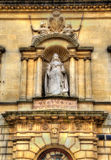Statue of Queen Victoria in Bath town Stock Photos