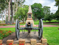 A statue of Queen Victoria in Kings Park and Botanical Gardens in Perth Stock Images