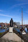 Statue of Queen Wilhelmina Royalty Free Stock Photo