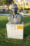 Statue of Quincy Jones in Montreux Stock Image