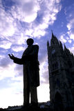 Statue- Quito, Ecuador Royalty Free Stock Photography