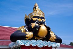Statue of Rahu Stock Images