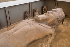 Statue of Ramesses II. Close up of Statue of Ramesses II Royalty Free Stock Image