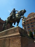 Statue of Ramon Berenguer, Count of Barcelona Stock Photo