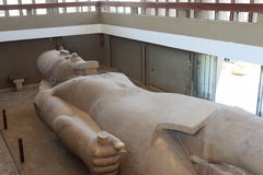 Statue of Ramses II found at Memphis Royalty Free Stock Photo