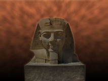 Statue of Ramses 2 at Luxor temple () Royalty Free Stock Photo