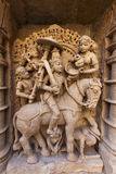 Statue at the Rani Ki Vav Step Well Stock Photography