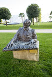Statue of Ray Charles in Montreux Royalty Free Stock Image