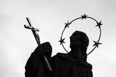 Statue religieuse photo stock