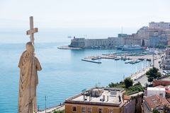 Statue of Religion, Gaeta Stock Image