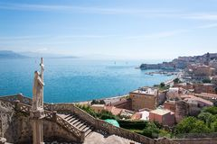 Statue of Religion, Gaeta Stock Photo