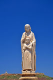 Statue of religion. Statue a women with child of religion in malta Stock Photography