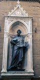 Statue of a religious figure Royalty Free Stock Photo