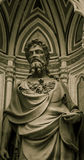 Statue of a religious figure Stock Photo