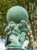 Statue représentant Hercule Photo stock