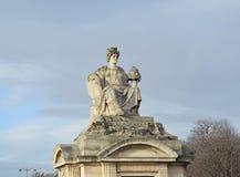 Statue representing Bordeaux Stock Image