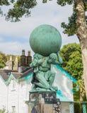 Statue Representing Hercules Royalty Free Stock Images