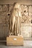 Statue in Restored Stoa of Attalos, Athens, Greece Stock Photos