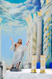 Statue of the Resurrection Christ Stock Photo