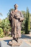 Statue of Reverend Theofelos Hamutumbangela at the Tintenpalast, Windhoek royalty free stock photography