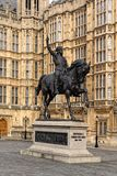Statue of Richard the Lionheart Stock Image