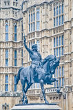 1. Statue Richard in London, England Lizenzfreies Stockbild