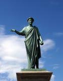 Statue of Richelieu Duke. Odessa Stock Photo
