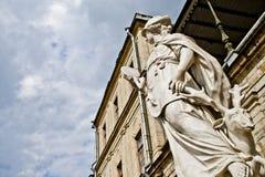 Statue-Richtung Stockfoto