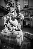 Statue of rider on the horse, Bratislava - Slovakia Stock Image