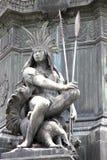 Statue in Rio de Janeiro Royalty Free Stock Image