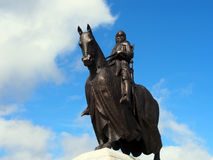 Statue of Robert the Bruce, Bannockburn Royalty Free Stock Photo