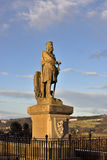 Statue of Robert the  Bruce Royalty Free Stock Photos