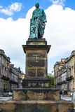 Statue of Robert Melville in Scotland Stock Photo