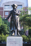 Statue of Robert Morris, Founding Father and signer of Declaration of Independence Royalty Free Stock Images