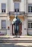 Statue of Robert Wilhelm Bunsen Royalty Free Stock Photography